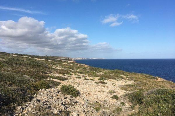 Cap Salinas a Cala Marmols