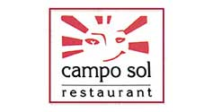 logotipo restaurante camposol
